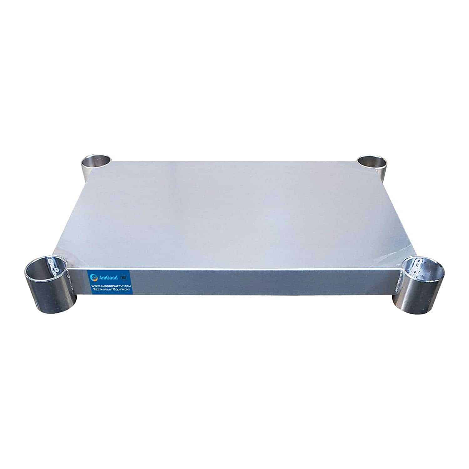 Additional Undershelf for 14″ x 24″ Stainless Steel Work Table