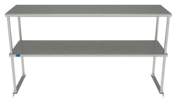 18″ X 60″ Stainless Steel Double-Tier Shelf