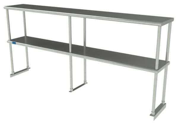 12″ X 72″ Stainless Steel Double-Tier Shelf
