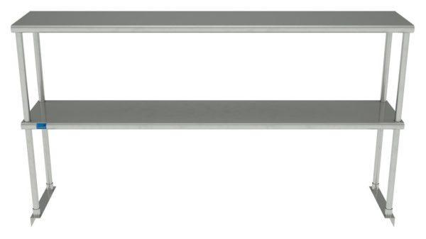 12″ X 60″ Stainless Steel Double-Tier Shelf