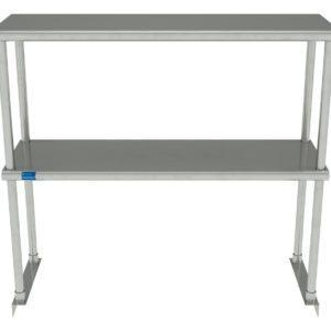 12″ X 36″ Stainless Steel Double-Tier Shelf