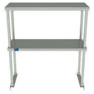 12″ X 30″ Stainless Steel Double-Tier Shelf
