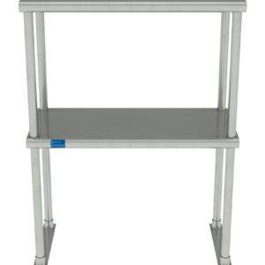 12″ X 24″ Stainless Steel Double-Tier Shelf