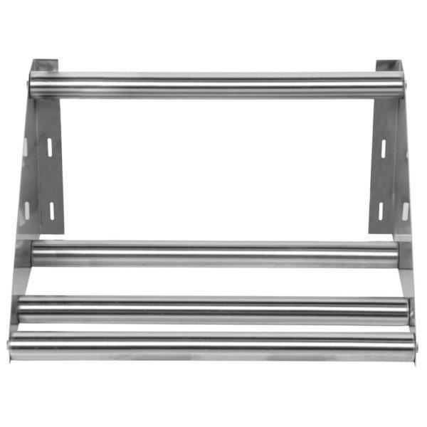 22″ Tubular Rack Wall Mounted Shelf