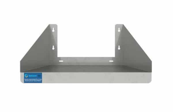 24″ x 24″ Stainless Steel Microwave Shelf