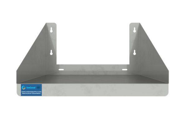 18″ x 18″ Stainless Steel Microwave Shelf