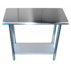Work Tables With Undershelf