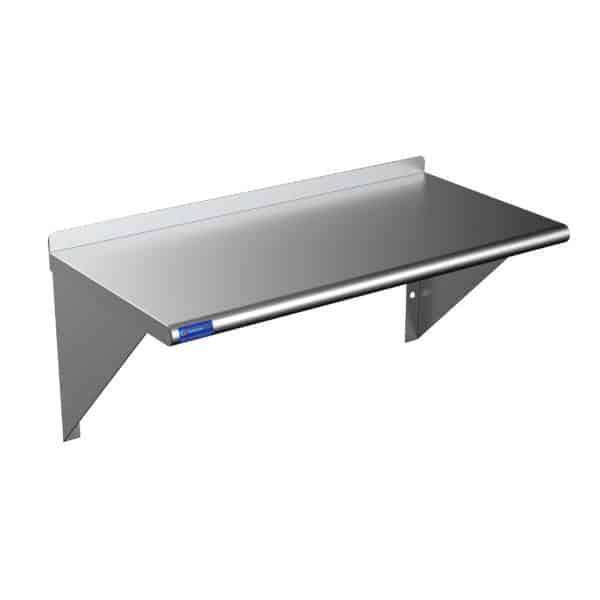 16″ X 60″ Stainless Steel Wall Mount Shelf